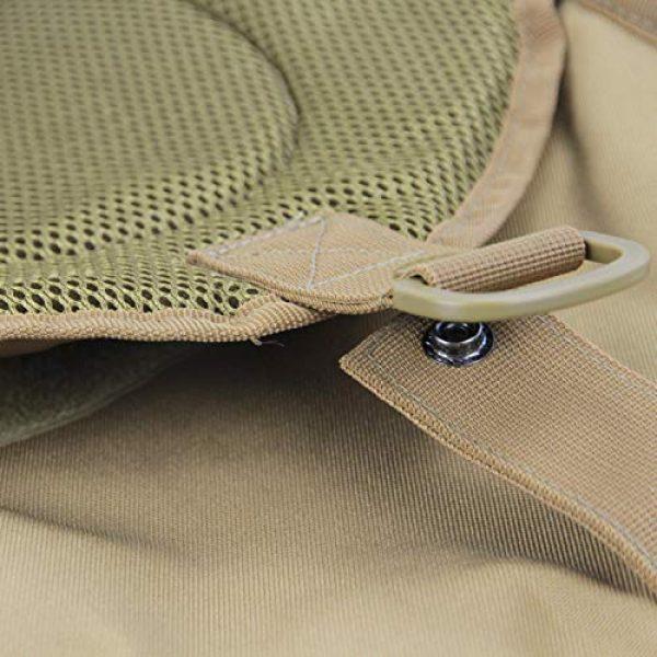 GUGULUZA Tactical Backpack 6 GUGULUZA Tactical Sling Bag,EDC Shoulder Backpack, Crossbody Molle Assault Range Bag for Hunting Camping Trekking