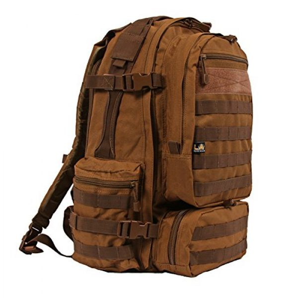 LA Police Gear Tactical Backpack 2 LA Police Gear Operator MOLLE Tactical, Military, Police Backpack Hydration Compatible