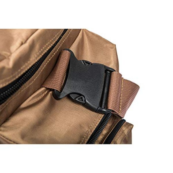 FiveStar Products, LLC Tactical Backpack 3 FIVESTAR Range Bag Tactical Style Duffel Heavy Duty Zippers 600D Ballistic
