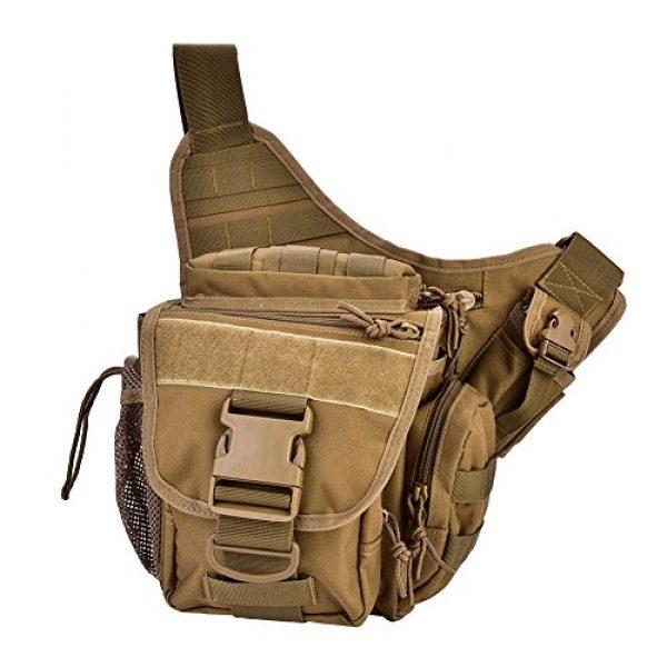Vbestlife Tactical Backpack 7 2Colors Durable Men Military Chest Shoulder Bag Pack Military Sling Bag Chest