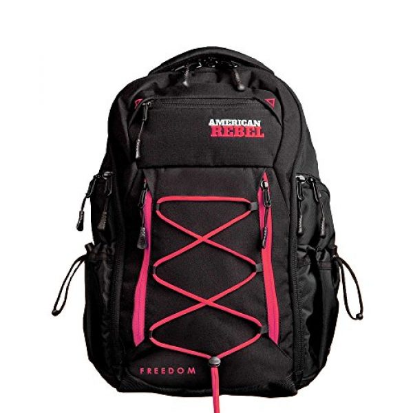 American Rebel Inc. Tactical Backpack 1 Tactical Concealed Carry Durable Backpack - Medium Freedom Bag for Every Day Use - American Rebel Inc.