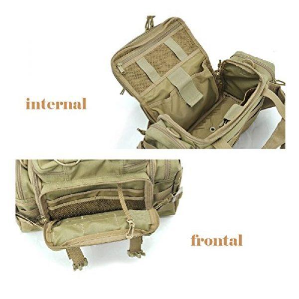 SHANGRI-LA Tactical Backpack 4 SHANGRI-LA Tactical Range Bag Outdoor Sling Backpack Hiking Fanny Waist Pack
