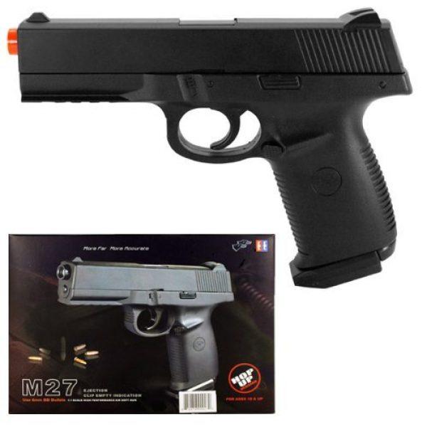 MilSim Airsoft Pistol 1 m27 spring airsoft black handgun gun 1 1 scale w/ bb's(Airsoft Gun)