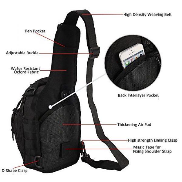 Novemkada Tactical Backpack 3 Tactical Shoulder Bag,1000D Outdoor Military Sling Daypack Backpack