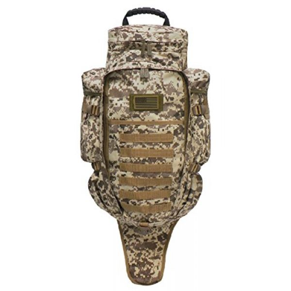East West U.S.A Tactical Backpack 1 East West U.S.A RT538/RTC538 Tactical Molle Military Assault Rucksacks Backpack, Tan ACU