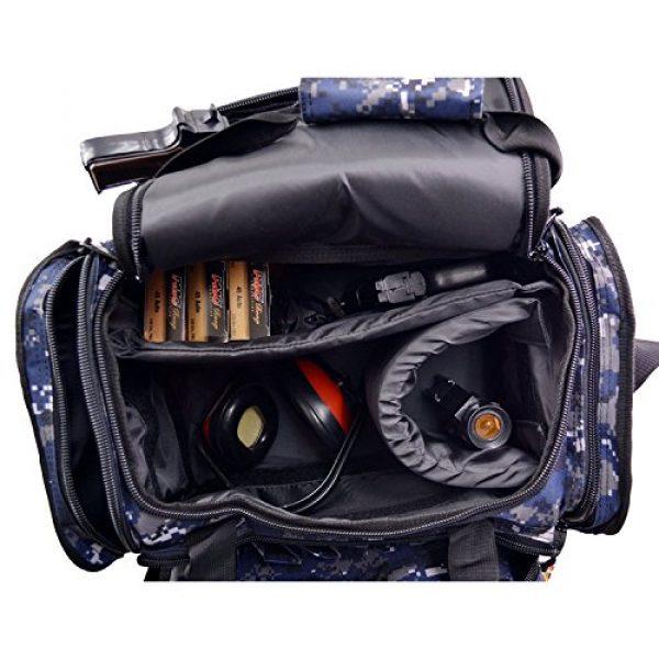 Explorer Tactical Backpack 6 EXPLORER Large Padded Deluxe Tactical Range Bag Gear Tactical Shoulder Modular