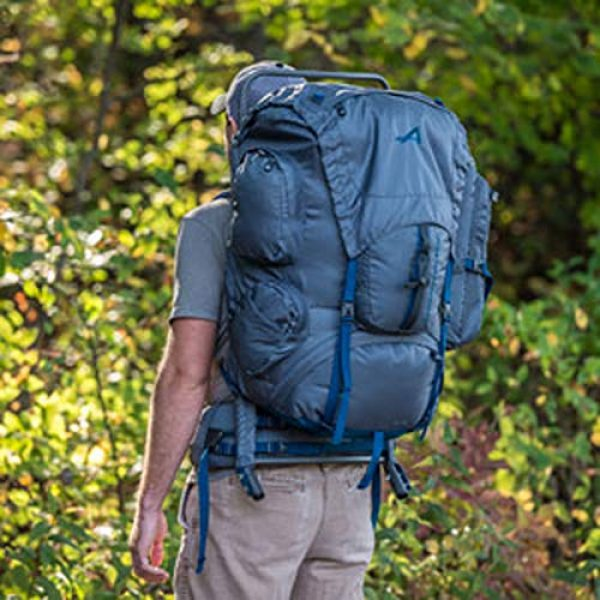 ALPS Mountaineering Tactical Backpack 7 ALPS Mountaineering Zion External Frame Pack, 64 Liters
