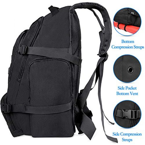 NOOLA Tactical Backpack 4 NOOLA Tactical Military Backpack Army 3 Day Assault Pack Large Rucksack Molle Bag