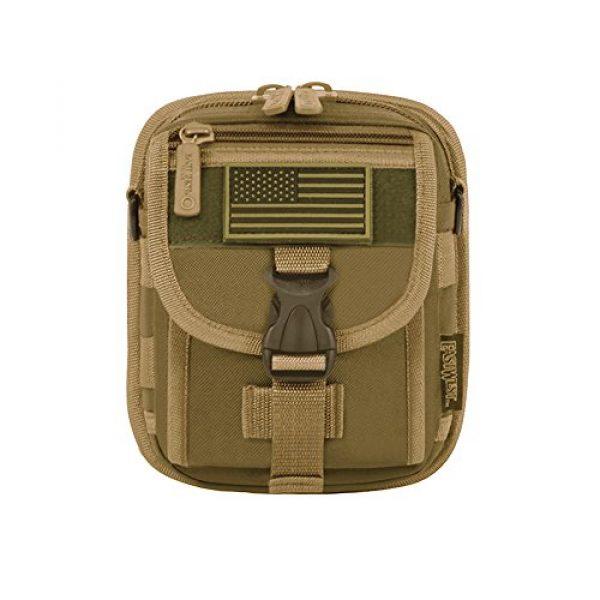 East West U.S.A Tactical Backpack 1 East West U.S.A RT520 Tactical Molle Pouch Waist Belt Utility Gadget Bag