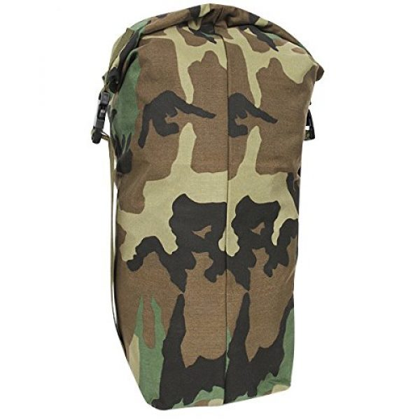 USGI Tactical Backpack 4 US Army Woodland Camo NBC Chem Chemical Suit Bag Back Pack Straps Mopp Gear