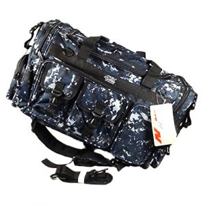 "Nexpak Tactical Backpack 1 Nexpak 26"" 3800cu.in Tactical Duffel Range Backpack TFBP126 DMBK (Navy Blue) Digital Camouflage"