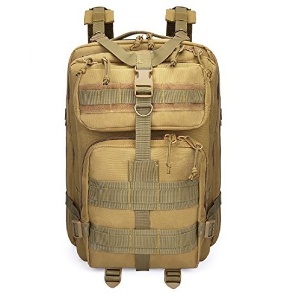 G4Free Tactical Backpack 7 G4Free Tactical Shoulder Backpack Military Survival Pack Army Molle Bug Out Bag Surplus Backpack 35L