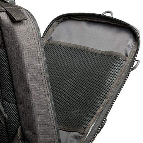 Savage Cut Tactical Backpack 7 Savage Cut Waterproof Tactical Bag - Military Laser Cut, Heavy Duty Survival Backpack (Black)