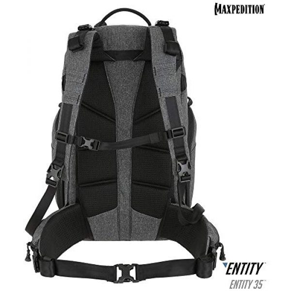 Maxpedition Tactical Backpack 2 Maxpedition Entity 35 CCW-Enabled Internal Frame Backpack 35L