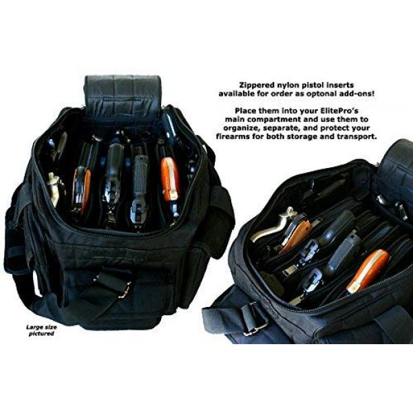 Explorer Tactical Backpack 2 Explorer Explorere 8 Pistol Tactical Range Go Bag Assault Gear Range Bag Hiking Shoulder Strap EDC Camera Bag MOLLE Modular Deployment Compact Utility Military Surplus Gear