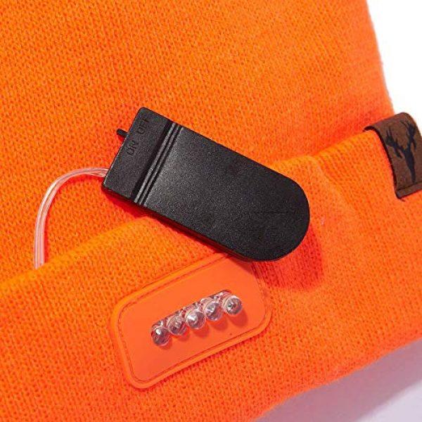 HOT SHOT Tactical Hat 3 HOT SHOT Men's Bolt Led Lighted Knit Beanie
