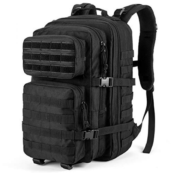 RUPUMPACK Tactical Backpack 1 RUPUMPACK Military Tactical Backpack Large Army 3 Day Assault Pack 42L Camping Survival Rucksack Molle Bug Out Bag with 3L Water Bladder
