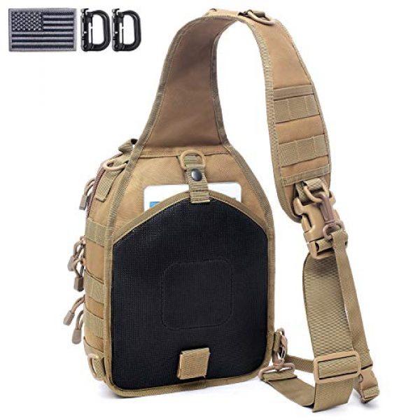 Tacticool Tactical Backpack 2 Tactical Sling Bag Pack Military Rover Shoulder Sling Backpack Molle Assault Range Bags Chest Pack Day Pack Diaper Bag