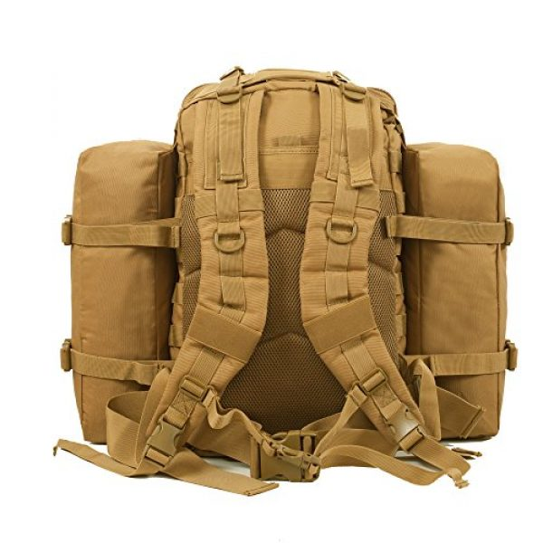 Seibertron Tactical Backpack 4 Seibertron Falcon Water Repellent Hiking Camping Backpack Compact Pack Summit Bag