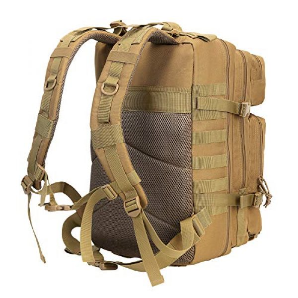 YOMEGO Tactical Backpack 3 YOMEGO Durable Tactical Backpack Travel Bug-Out Bag Great Tactical Survival Gear for Men and Women, 45L