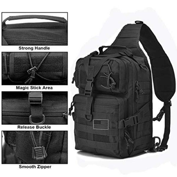 hopopower Tactical Backpack 2 Tactical Sling Bag Pack Military Shoulder Backpack Everyday Carry Bag,20L