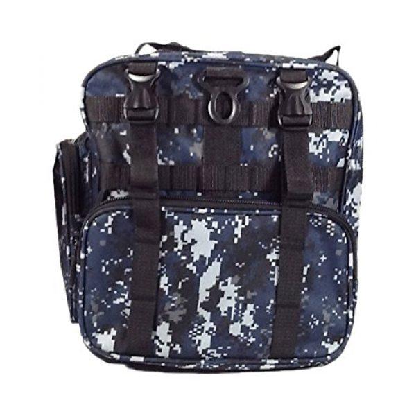 "Nexpak Tactical Backpack 5 Nexpak 26"" 3800cu.in Tactical Duffel Range Backpack TFBP126 DMBK (Navy Blue) Digital Camouflage"