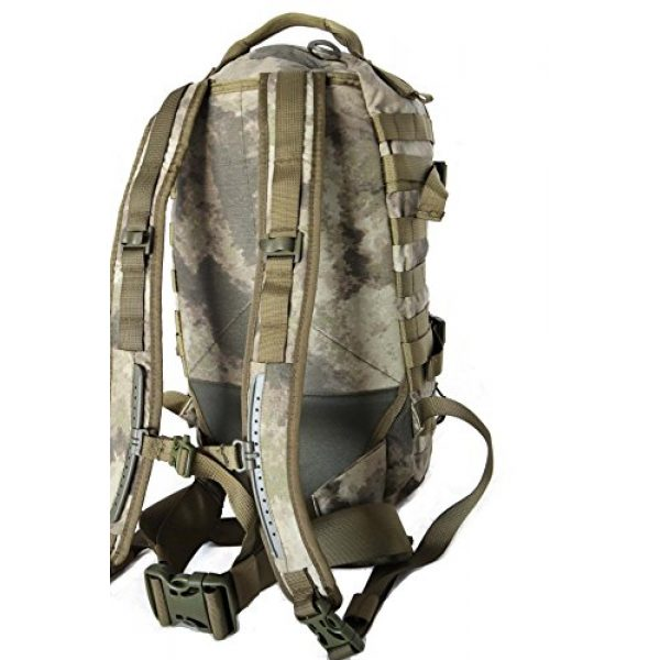 Hanks Surplus Tactical Backpack 6 Hank's Surplus Military Molle Travel Hiking Day Backpack