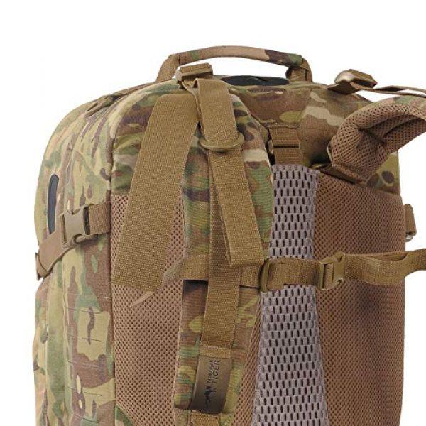 Tasmanian Tiger Tactical Backpack 5 Tasmanian Tiger Mission Pack Mk II, 37L Combat Backpack with Laser Cut MOLLE System, YKK RC Zippers