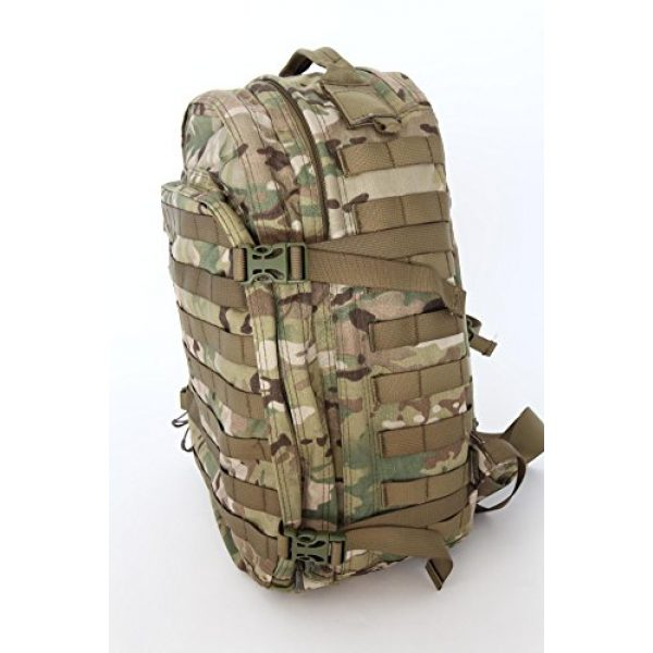 Hanks Surplus Tactical Backpack 6 Hank's Surplus Military Bug Out Rucksack Tactical Assault Multi Day 48L Backpack