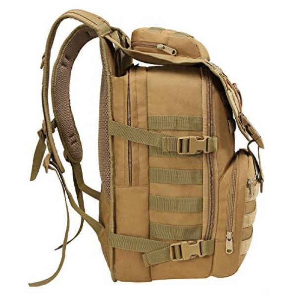 T1FE 1SFE Tactical Backpack 3 T1FE 1SFE Military Tactical Backpack, Tactical Bag, Assault Pack- Molle Bug Out Bag Large