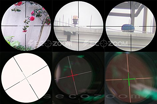 SECOZOOM Rifle Scope 6 SECOZOOM 2000yards Long Range Shooting Scopes 4-50x75 Tactical Gunsight 35mm .308 Rifle Scope