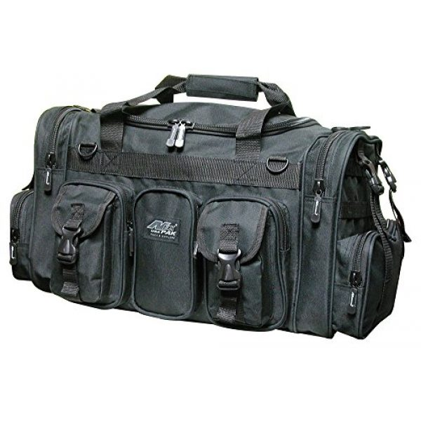 "Nexpak Tactical Backpack 1 Nexpak 22"" Tactical Duffle Military Molle Gear Shoulder Strap Range Bag TF122 Black"