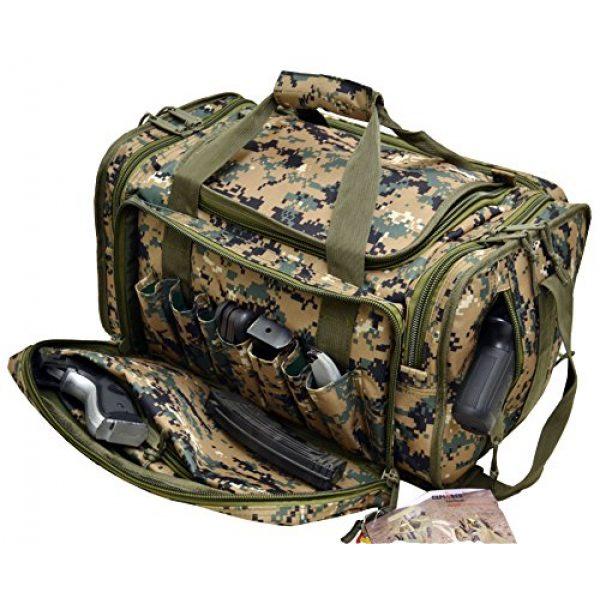 Explorer Tactical Backpack 2 Explorer Tactical Range Ready Bag 18-Inch Woodland Digital