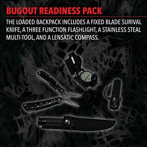 G.P.S. Tactical Backpack 5 G.P.S. Tactical Range Backpack, Gray Digital