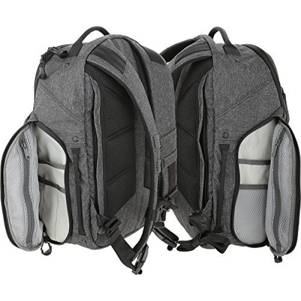 Maxpedition Tactical Backpack 5 Entity 21 CCW-Enabled EDC Backpack 21L (Charcoal)