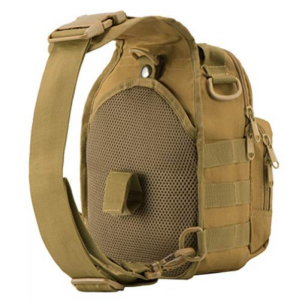 Luckin Packin Tactical Backpack 4 Luckin Packin Tactical Sling Bag,Military Rover Shoulder Sling Backpack,Tactical Sling Pack