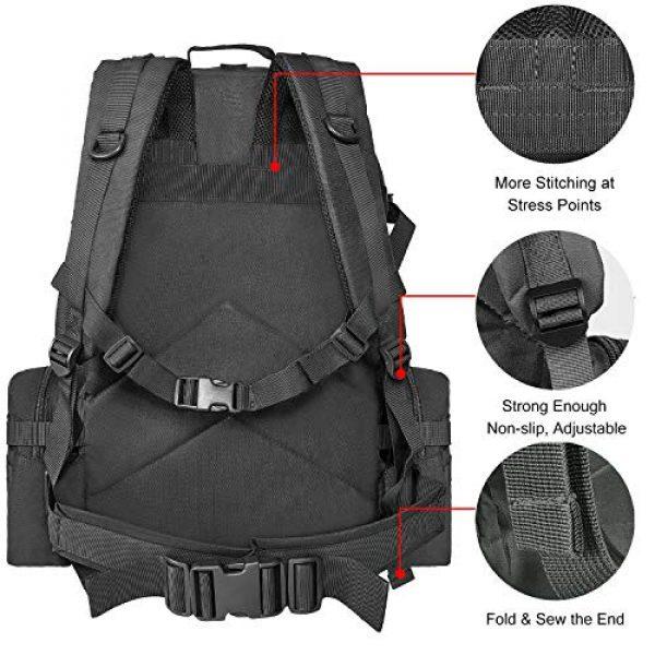 NOOLA Tactical Backpack 6 NOOLA Tactical Military Backpack Army Assault Pack Molle Bag Built-up Rucksack