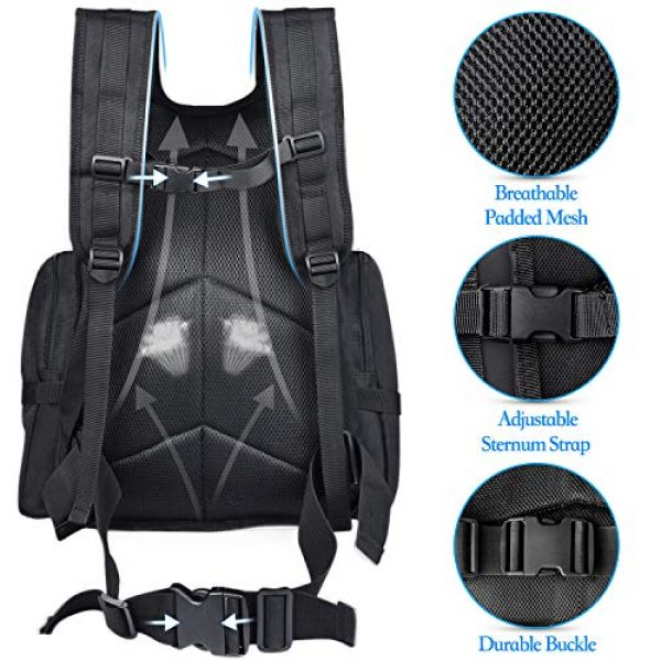 NOOLA Tactical Backpack 5 NOOLA Tactical Military Backpack Army 3 Day Assault Pack Large Rucksack Molle Bag