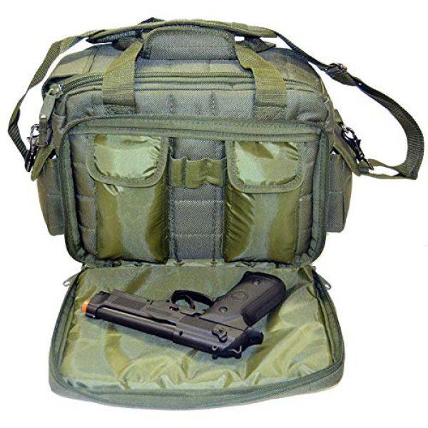 Explorer Tactical Backpack 3 Explorer Tactical 12 Pistol Padded Gun and Gear Bag OD Green