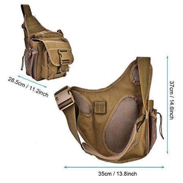 Vbestlife Tactical Backpack 2 2Colors Durable Men Military Chest Shoulder Bag Pack Military Sling Bag Chest