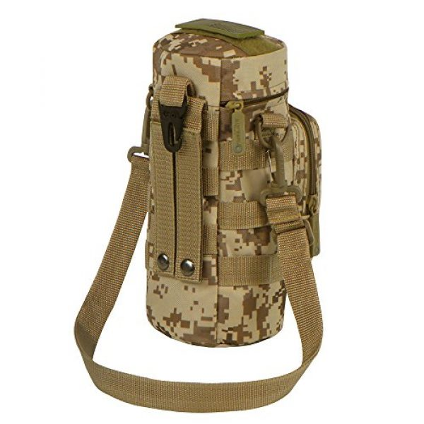 East West U.S.A Tactical Backpack 4 East West U.S.A RTC521 Tactical Water Bottle Pouch Military Molle Pack Gear Waist Back Pack