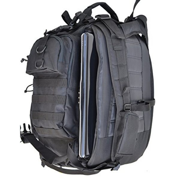 Explorer Tactical Backpack 5 Explorer Tactical Gun Concealment Backpack With Molle Webbing Hydration Ready