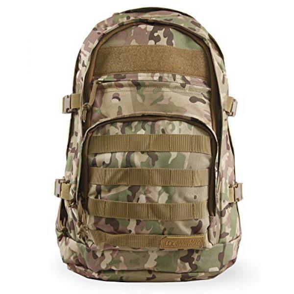 HIGHLAND TACTICAL Tactical Backpack 1 Highland Tactical Men's Basecamp Heavy Duty Tactical Backpack