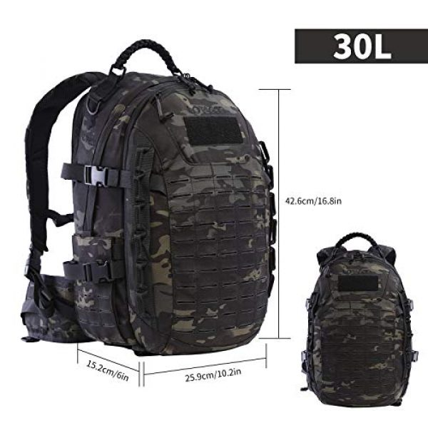 VOTAGOO Tactical Backpack 2 VOTAGOO Tactical Military Backpack Molle Bag Rucksack 30 L Army Assault Pack Outdoor Travel Hiking Camping