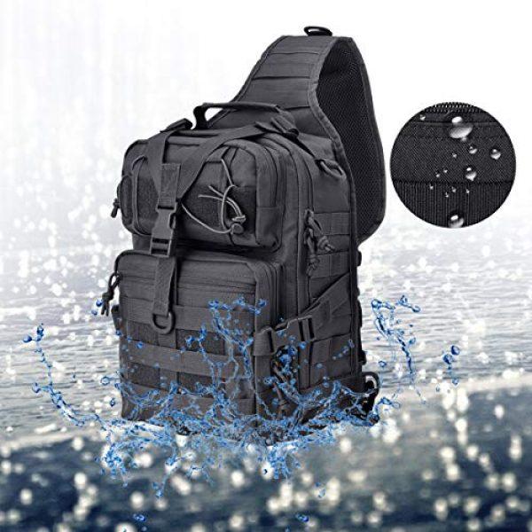 hopopower Tactical Backpack 6 Tactical Sling Bag Pack Military Shoulder Backpack Everyday Carry Bag,20L