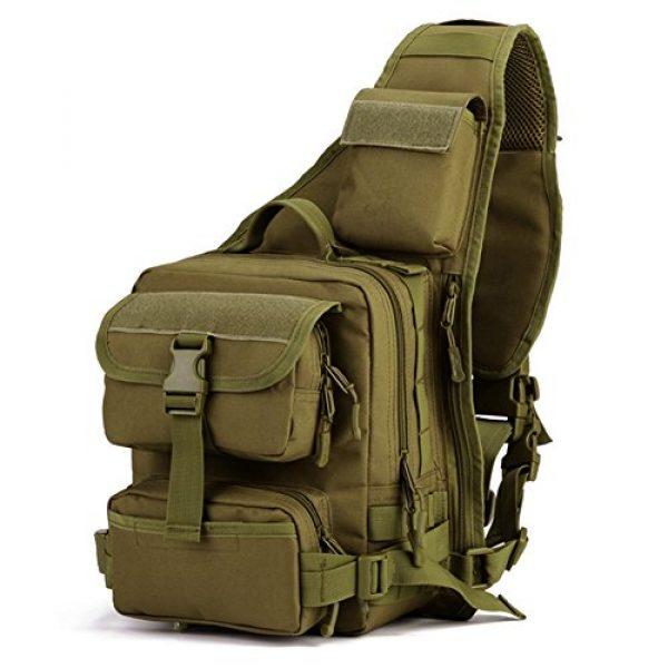 Huntvp Tactical Backpack 1 Huntvp Tactical Military Sling Pack Chest Daypack Molle Backpack Shoulder Bag
