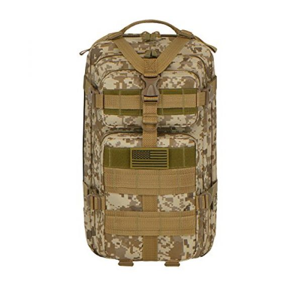 East West U.S.A Tactical Backpack 1 East West U.S.A RTC502 Tactical Molle Military Assault Rucksacks Backpack