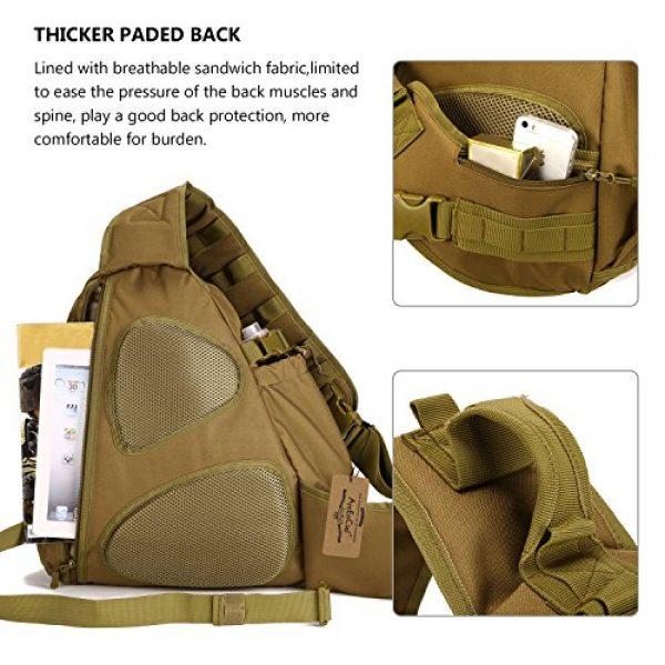 ArcEnCiel Tactical Backpack 4 ArcEnCiel Tactical Sling Pack Military Molle Chest Crossbody Shoulder Bags Motorcycle Bicycle Assault Range Diaper Backpack