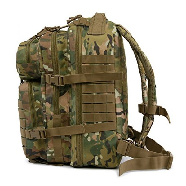 HIGHLAND TACTICAL Tactical Backpack 6 Highland Tactical Men's Vantage Tactical Backpack