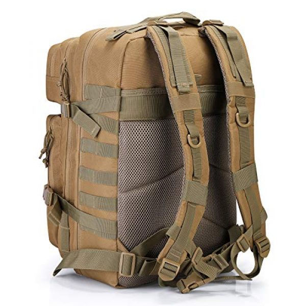 G4Free Tactical Backpack 2 G4Free Military Tactical Backpack 3 Day Assault Pack Molle Bug Out Bag 40L Rucksack